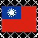 Taiwan Flag Flags Icon