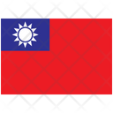 Flag Country Taiwan Icon