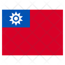 Taiwan Country National Icon