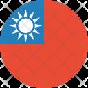Taiwan Republic China Icon