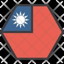 Taiwan Taiwanese Asian Icon