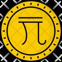 Taiwan New Dollar Coin Money Icon