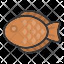 Fish Dessert Sweets Icon