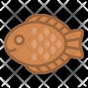 Fish Sweet Taiyaki Icon