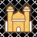 Taj Mahal Landmark Historical Building Icon