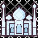 Taj Mahal Indian Landmark Indian Monument Icon