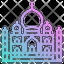 India Taj Mahal Icon