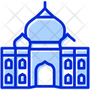 Taj Mahal Agra India Icon