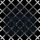 Line X Taj Mahal Icon