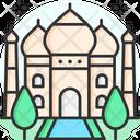 Taj Mahal Taj Mahal In India Agra Icon
