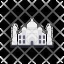 Taj Mahal Mosque Islam Icon