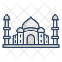 Taj Mahal Landmark Monument Icon