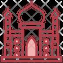 Taj Mahal Indian Monument Agra Icon