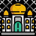 Taj Mahal Architecture And City Architectonic Icon