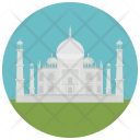 Taj Mahal Wonder Icon