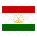 Tajikistan Flag Flags Icon