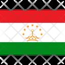 Flag Country Tajikistan Icon