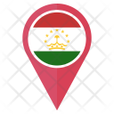 Tajikistan Flag Icon
