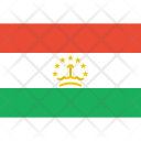 Tajikistan Flag World Icon