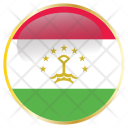 Tajikistan National Country Icon