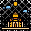 India Landmark Mosque Icon