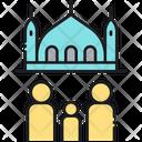 Takaful Masjid Mosque Icon