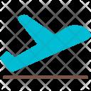 Take Off Airplane Icon
