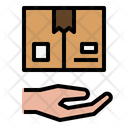 Take Package Hand Icon