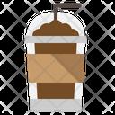 Frappe Take Away Coffee Shop Icon
