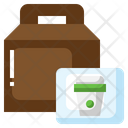 Take Away Coffee Cup Drink Icon