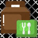 Take Away Order Bag Food Bag Icon