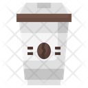 Take Away Coffee Cup Paper Cup Icon