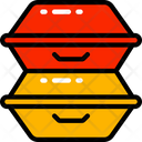 Take Away Containers Icon
