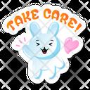 Take Care Rabbit Icon