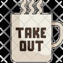 Take Out Coffee Cup Take Away Icon