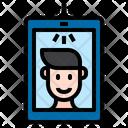 Take Photo Selfie Mobile Phone Icon