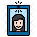 Take Photo Selfy Mobile Phone Icon