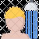 Take Shower Man Icon