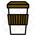 Hot Coffee Drink Icon