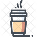 Takeaway Coffee Hot Icon