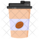 Takeout Coffee Takeaway Coffee Carry Off Coffee Icon