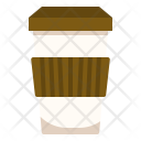 Takeaway Hot Coffee Icon