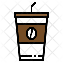 Coffee Ice Cup Icon