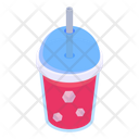 Takeaway Cold Drink Ice Drink Chilled Drink Icon