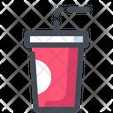 Drink Cold Soda Icon