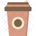 Hot Drinks Takeaway Icon