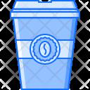 Takeaway Glass Coffee Icon