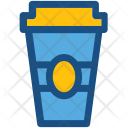 Juice Cup Paper Icon