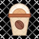Ice Coffee Takeaway Icon