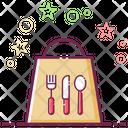 Takeaway Food Food Bag Paper Bag Icon